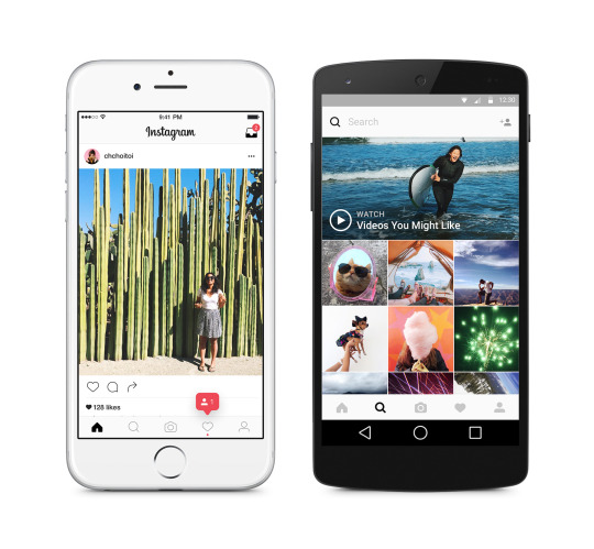 Noul Instagram pe iOS si Android