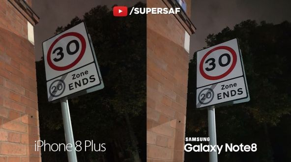 iPhone 8 Plus vs Samsung Galaxy Note 8