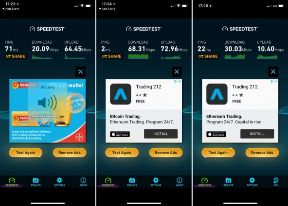 Speedtest Apple iPhone X