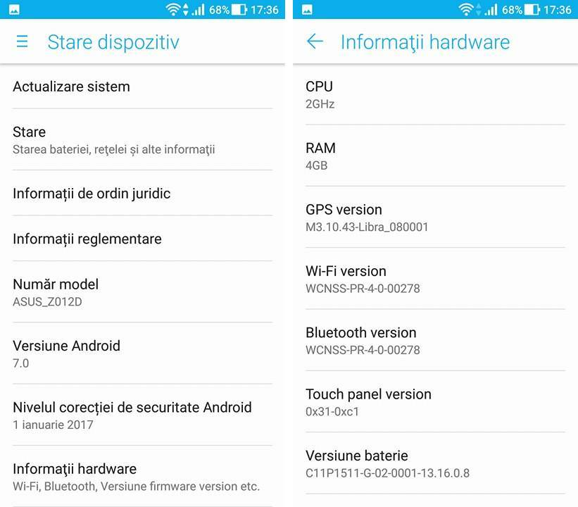 ASUS ZenFone 3 Update Android Nougat