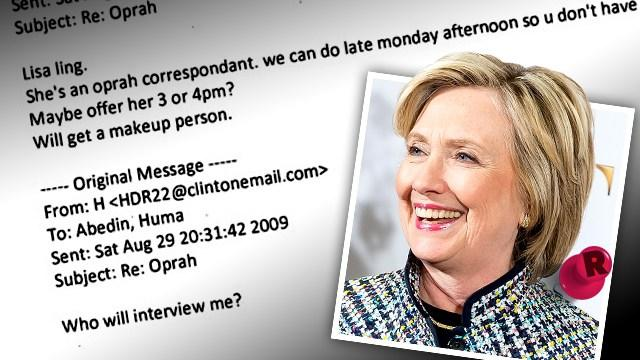 E-mail Hillary Clinton