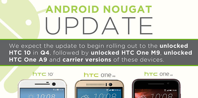 Program update HTC