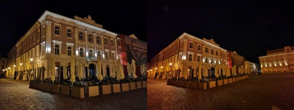 Unsatisfactory wide-angle photos in low light conditions