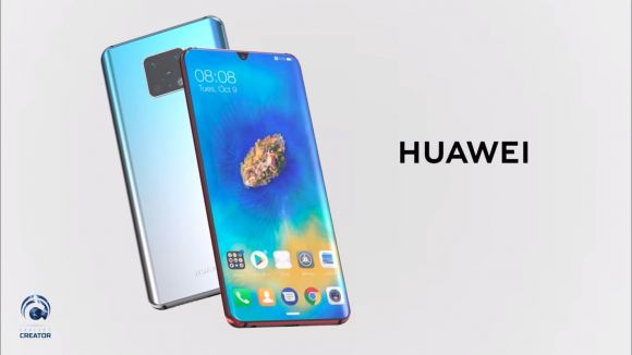 Concept Huawei Mate 30 Pro