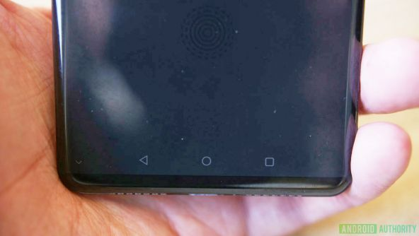 Huawei P20 scanner de amprente integrat in ecran