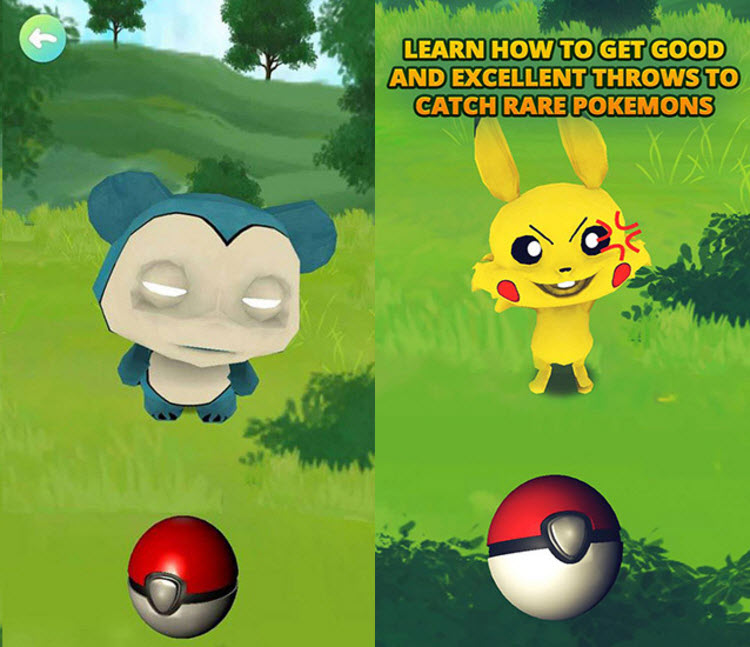 Pokeballs Training