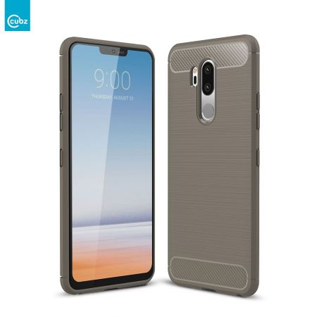 Husă LG G7 ThinQ CUBZ Series Carbon Grey