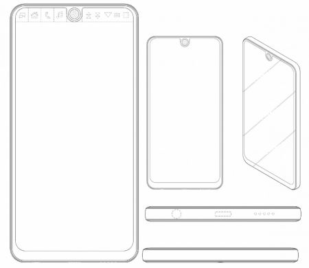 LG a patentat un design care seamănă leit cu Essential Phone