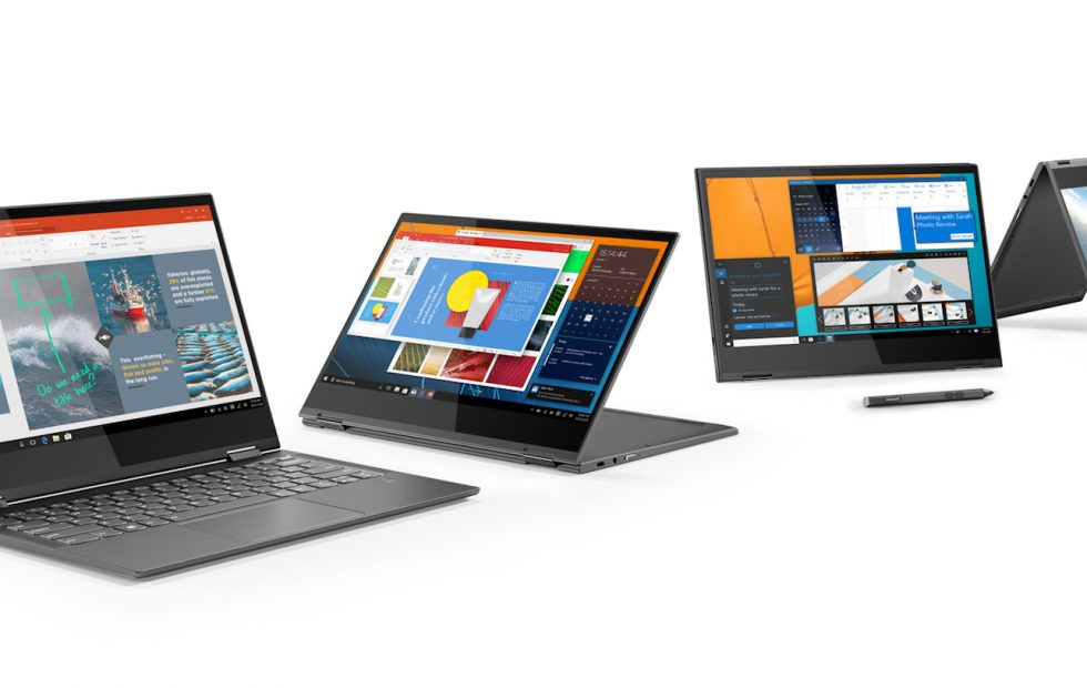 Lenovo Yoga C930, Yoga S730, Yoga Book C930 and others