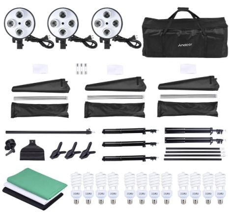 Kit lumini studio