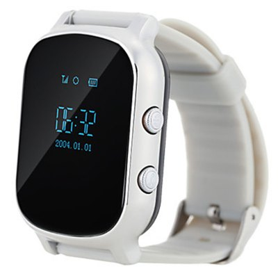 T58 Children Smartwatch Phone 0.96 inch MTK6261 SOS Call GPS Bluetooth A-GPS