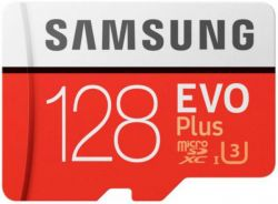 Card de Memorie Samsung MicroSDXC, 64GB, Model 2017, Adaptor inclus