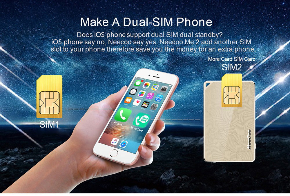 Adaptor dual-sim iPhone
