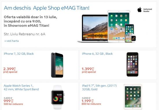Apple Shop eMAG Titan