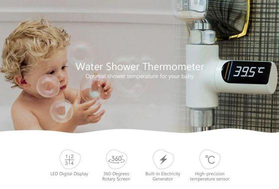 Display LED temperatura dus