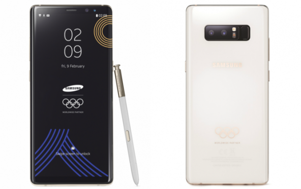 Samsung Galaxy Note 8 Olympic Games