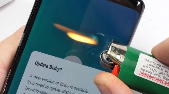 Test rezistenta Galaxy S9
