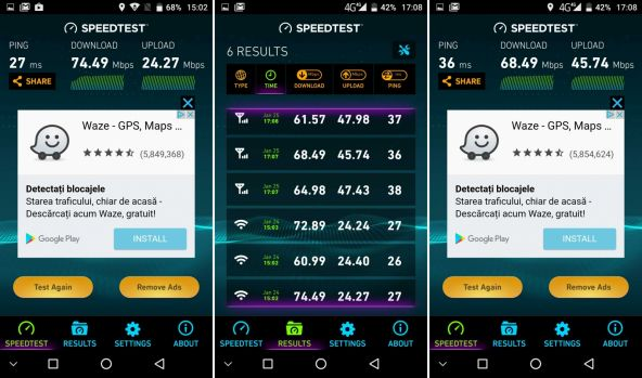 Speedtest UMi Plus E