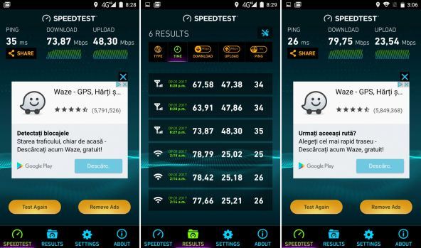 Speedtest UMi Super