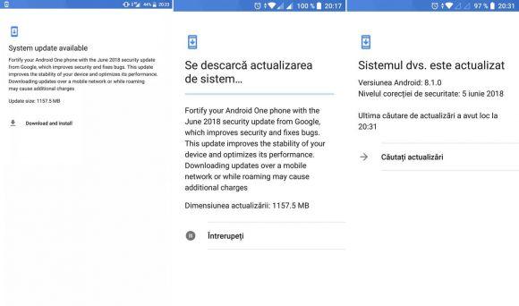 Android 8.1 Xiaomi Mi A1