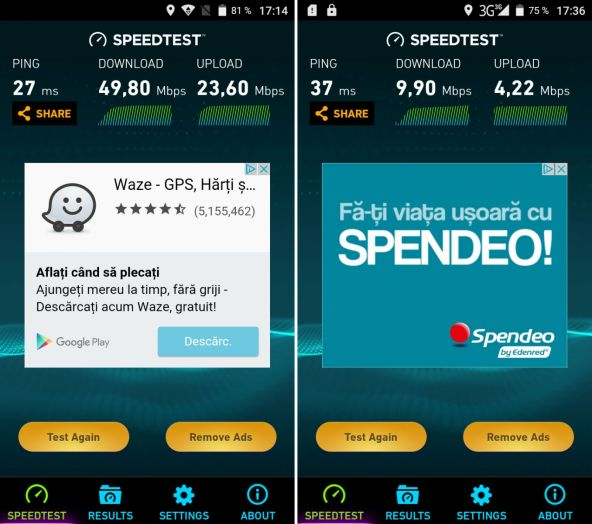 Speedtest iHunt Freedom