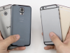iPhone 6 comparat cu Samsung Galaxy S5 și HTC One M8 În fața camerei (Video)