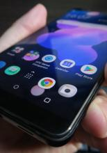 HTC U12+: Display slab iluminat, măcar are culori OK....
