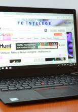Prezentare Lenovo ThinkPad T480s; Notebook business cu procesor Intel Core i7 din generația 8, 24 GB RAM și scanner amprente