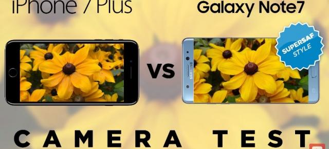 Samsung Galaxy Note 7 versus iPhone 7 Plus în duelul camerelor realizat de SuperSaf; Câștigător exploziv! (Video)