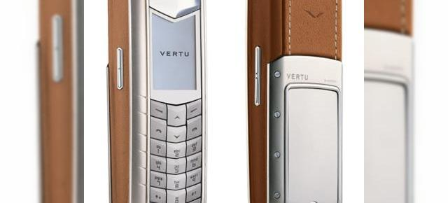 Vertu Ascent, definitia telefonului de lux (prezentare video)