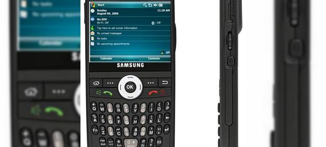 Windows Mobile 6, in curand pe Samsung BlacJack?