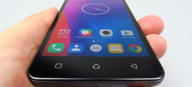 Lenovo K6: Design familiar, comoditate sporită