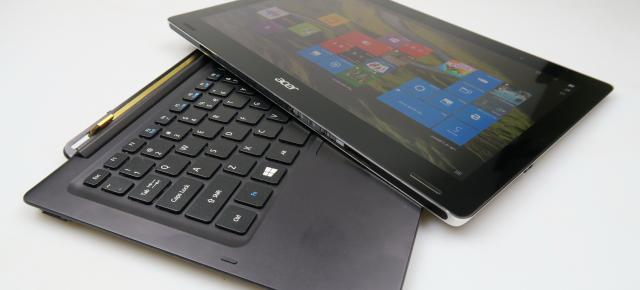 Acer Aspire Switch 12 S: Benchmark-uri duble faţă de un model cu CPU Intel Atom