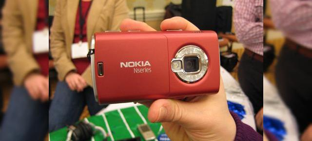 "CES 2008: Nokia N95 ""s-a inrosit"""
