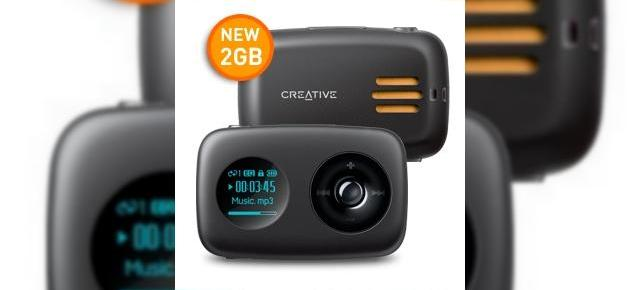 MP3 Player cu difuzor de la Creative