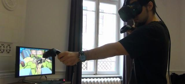 Primele impresii despre HTC Vive + 10 minute de gameplay filmat (Video)