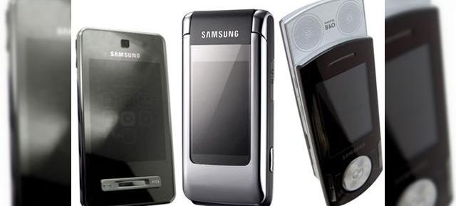 Samsung F480, F400 si G400 prezentate la Mobile World Congress