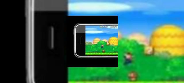 Apple iPhone se va duela cu PSP si Nintendo DS