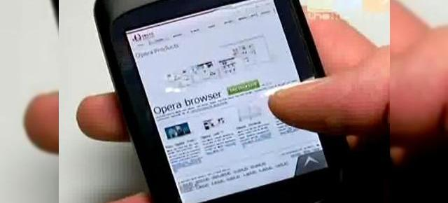 Opera Mobile 9.5 acum disponibil pe HTC Touch Diamond
