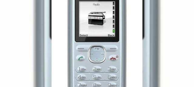 Sony Ericsson J132 un telefon low-end fara camera