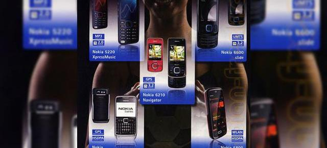 "Nokia cu touchscreen, XpressMusic 5800 ""Tube"" isi face aparitia intr-un poster german"