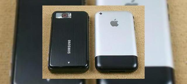 Samsung i900 Omnia versus Apple iPhone