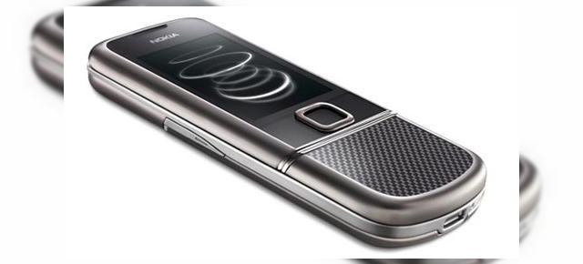 Nokia 8800 Carbon Arte, definitia luxului