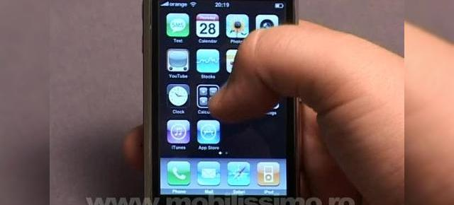 iPhone 3G analizat in recenzia Mobilissimo (video)