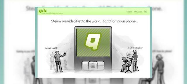 Qik ofera streaming video pe terminalele HTC