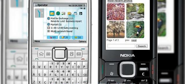 Nokia E71 si N82 premiate de revista Wired