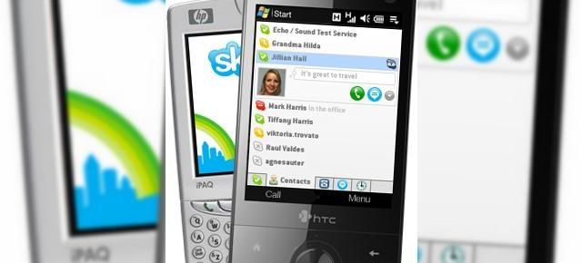 S-a lansat Skype for Windows Mobile 2.5 beta