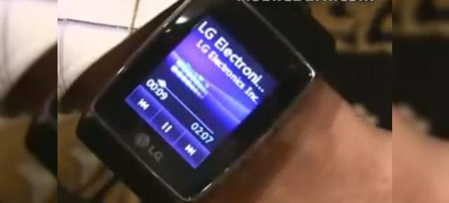 Ceasul telefon 3G LG GD910, analizat la CES (Video)