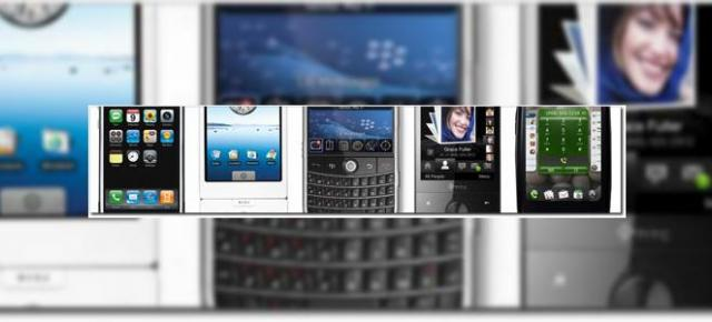 Comparatie intre Palm Pre, iPhone, T-Mobile G1, BlackBerry si Windows Mobile