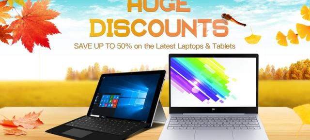 GeekBuying are reduceri speciale la tablete și laptop-uri; pe listă se află și tableta Teclast Tbook 16 Power cu 8 GB RAM